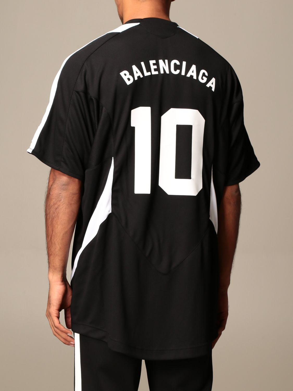 T-shirt Balenciaga: T-shirt homme Balenciaga noir 3