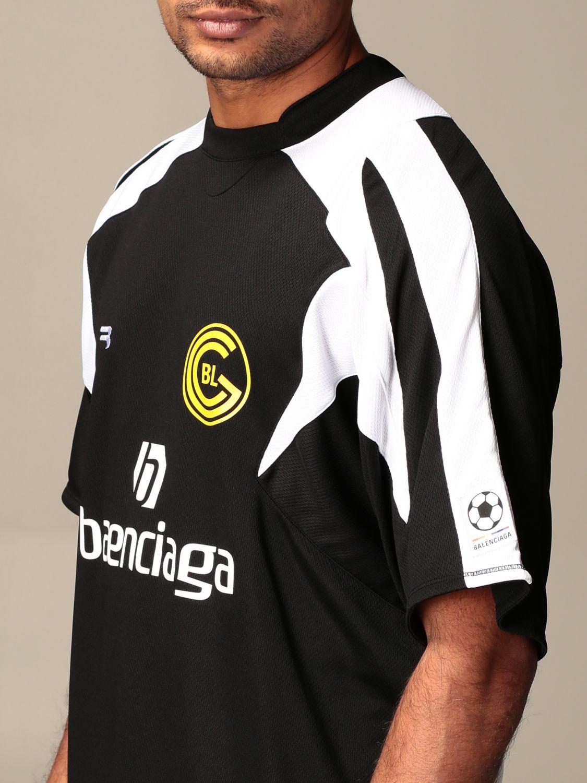 T-shirt Balenciaga: T-shirt homme Balenciaga noir 4