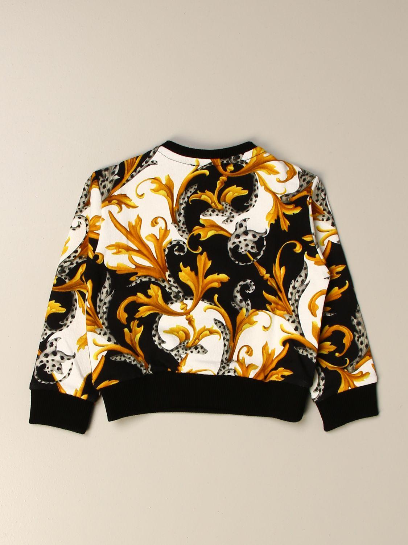 毛衣 Young Versace: 毛衣 儿童 Versace Young 黑色 2