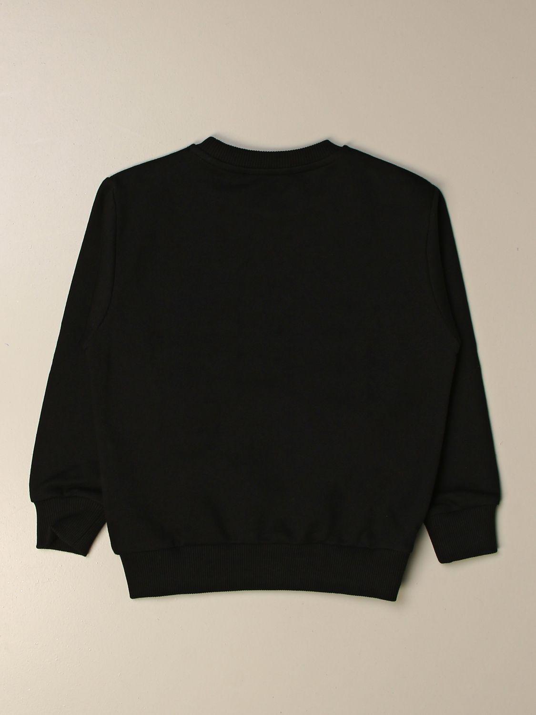 Sweater Young Versace: Versace Young crewneck sweatshirt with logo black 2