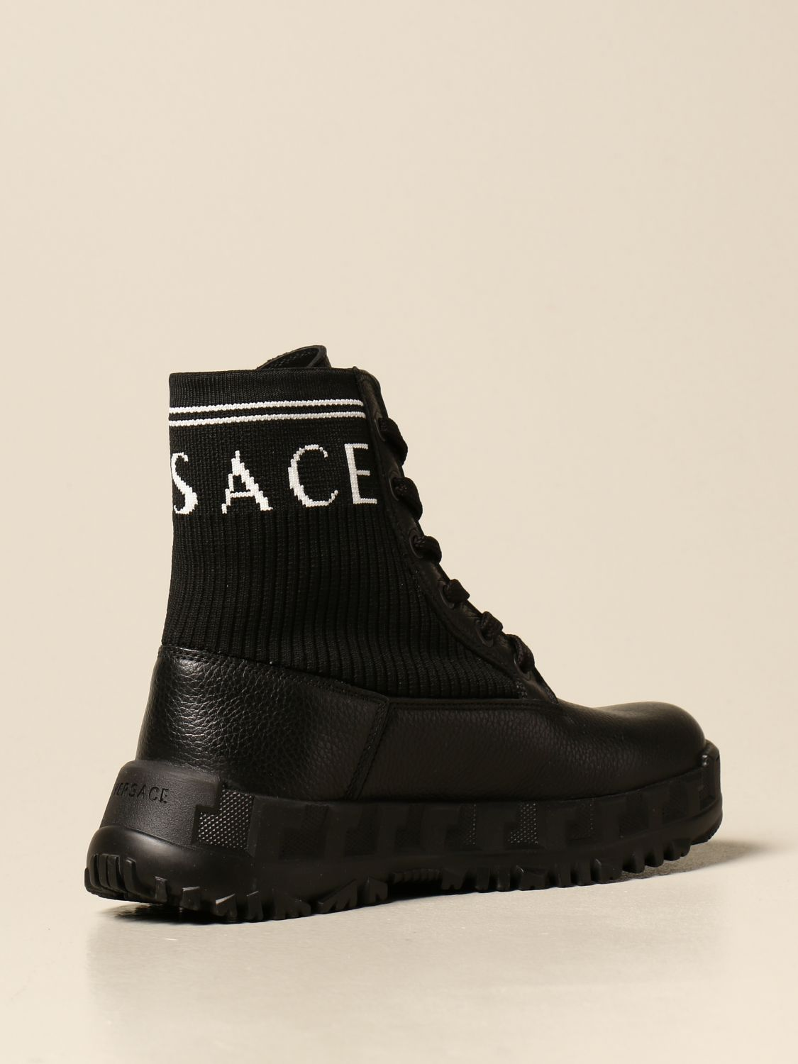Chaussures Young Versace: Chaussures enfant Versace Young noir 3