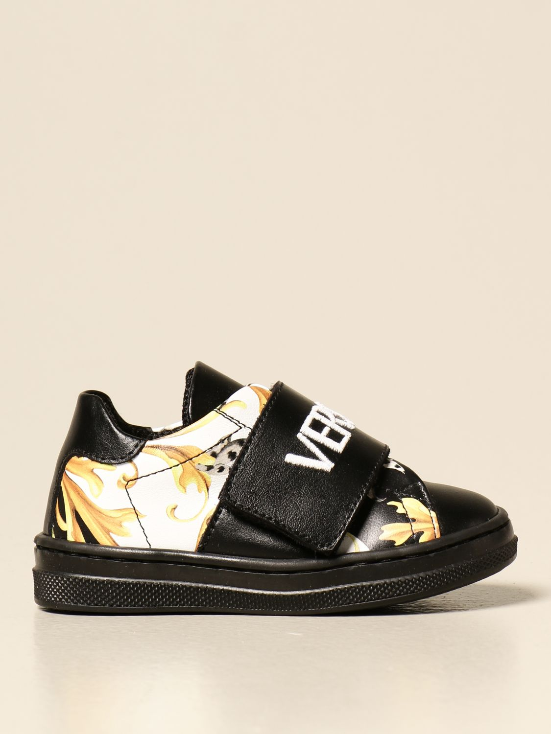 Chaussures Young Versace: Chaussures enfant Versace Young noir 1