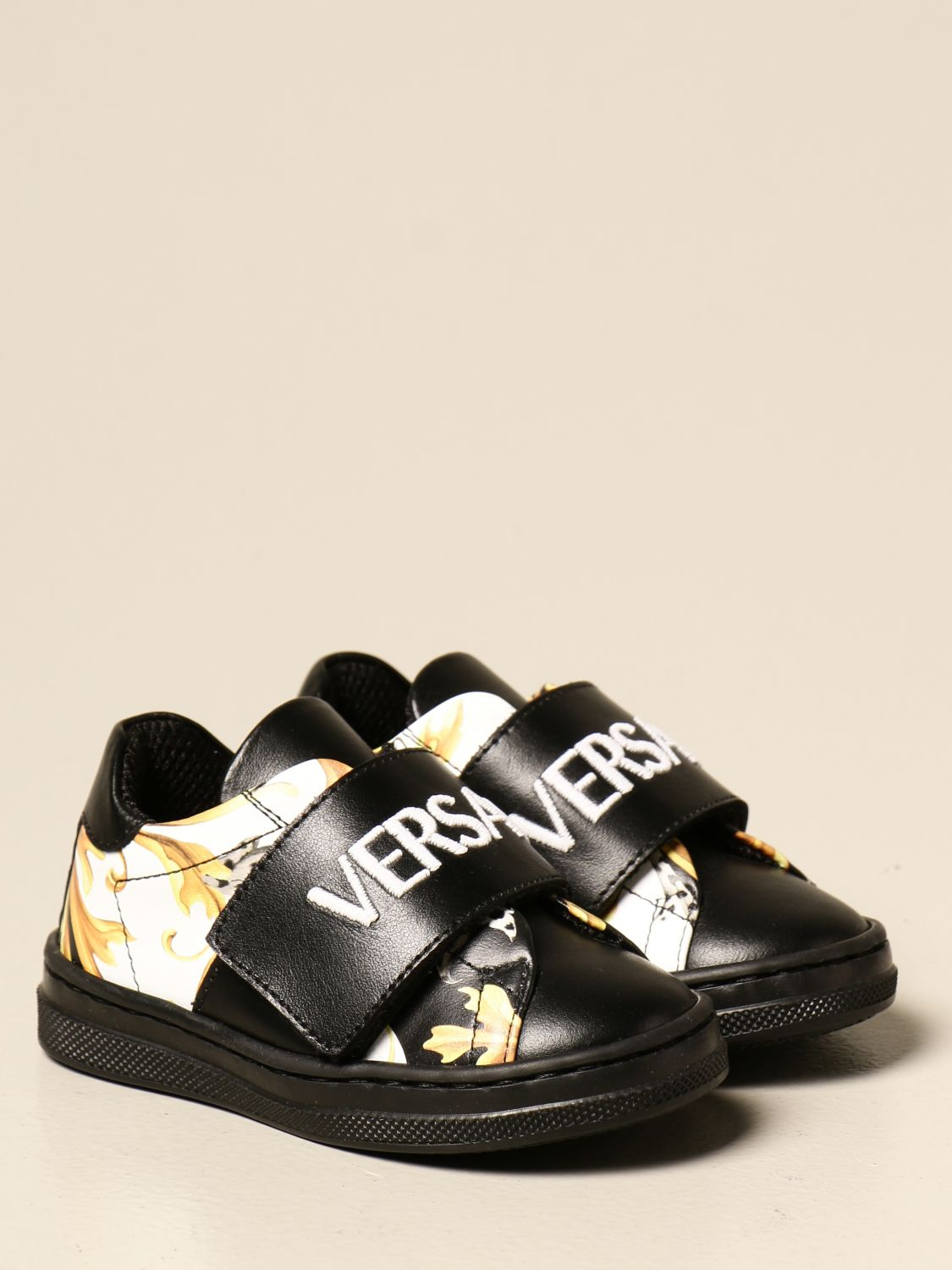 Chaussures Young Versace: Chaussures enfant Versace Young noir 2