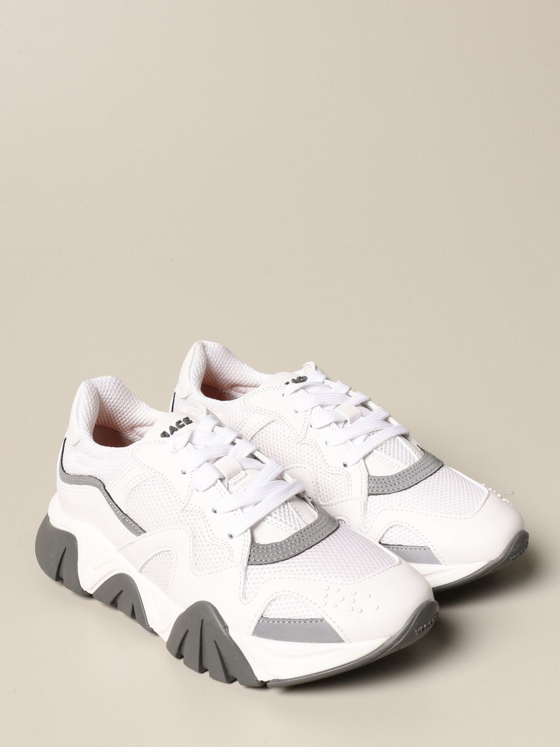Chaussures Young Versace: Chaussures enfant Versace Young blanc 2