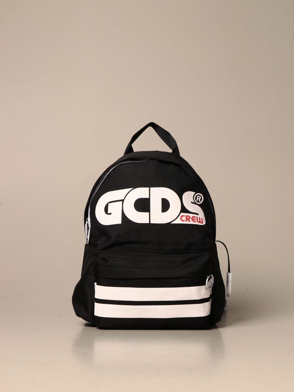 Duffel Bag Gcds: Gcds backpack in canvas with logo black 1