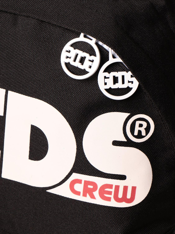 Duffel Bag Gcds: Gcds backpack in canvas with logo black 3