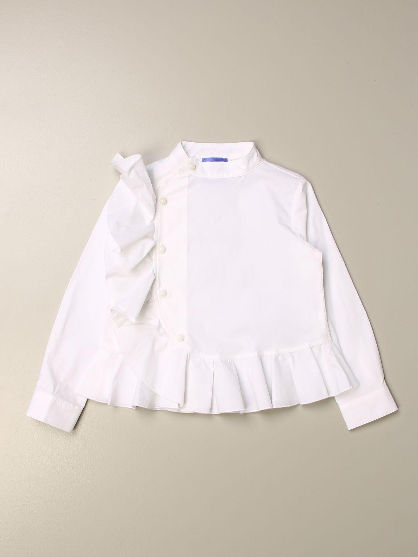 Shirt Stella Jean: Shirt kids Stella Jean white 1