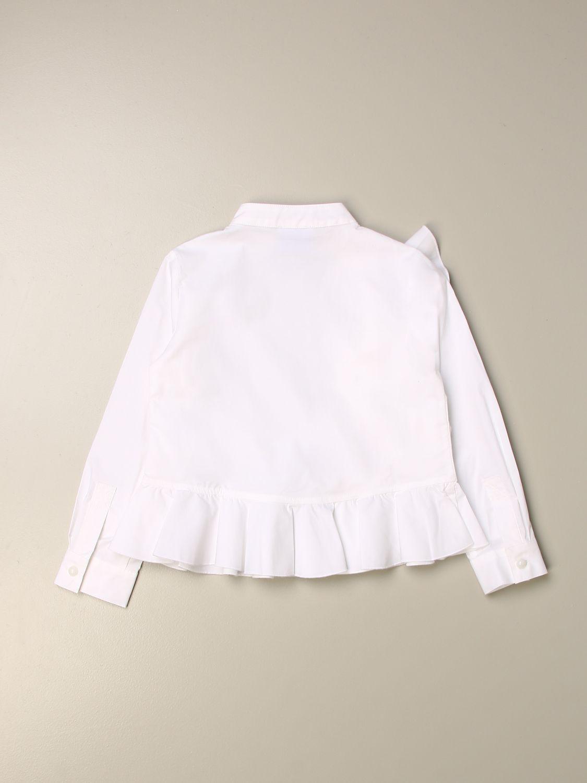 Shirt Stella Jean: Shirt kids Stella Jean white 2