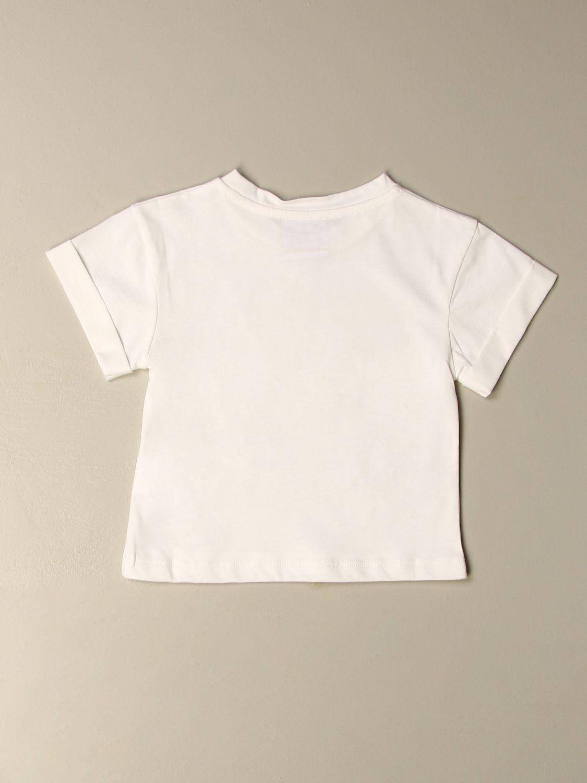 Camisetas Stella Jean: Camisetas niños Stella Jean blanco 2