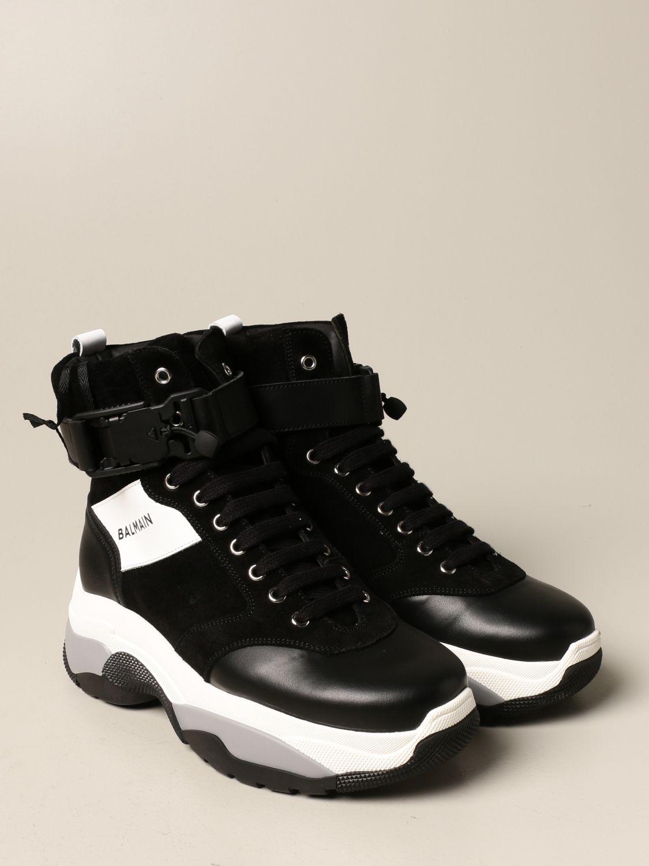 Zapatos Balmain: Zapatos niños Balmain negro 2