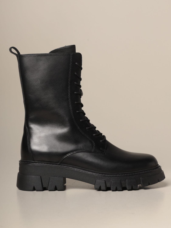 Flat ankle boots Ash: Flat ankle boots women Ash black 1