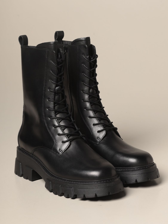 Flat ankle boots Ash: Flat ankle boots women Ash black 2