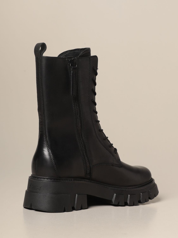 Flat ankle boots Ash: Flat ankle boots women Ash black 3