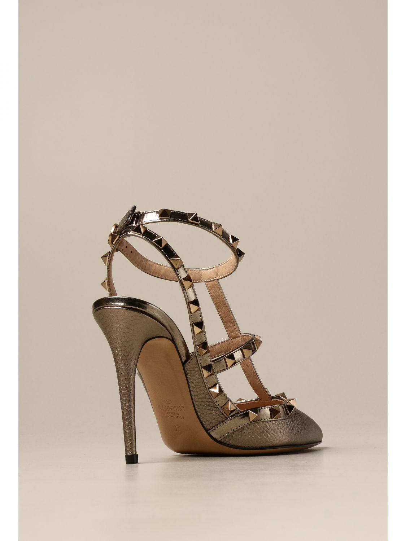 Flache Sandalen Valentino Garavani: Flache sandalen damen Valentino Garavani bronze 3