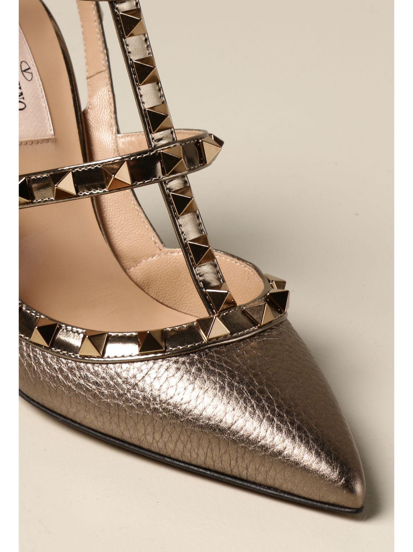 Flache Sandalen Valentino Garavani: Flache sandalen damen Valentino Garavani bronze 4