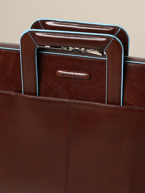 Beautycase Piquadro: Borsa uomo Piquadro marrone 4