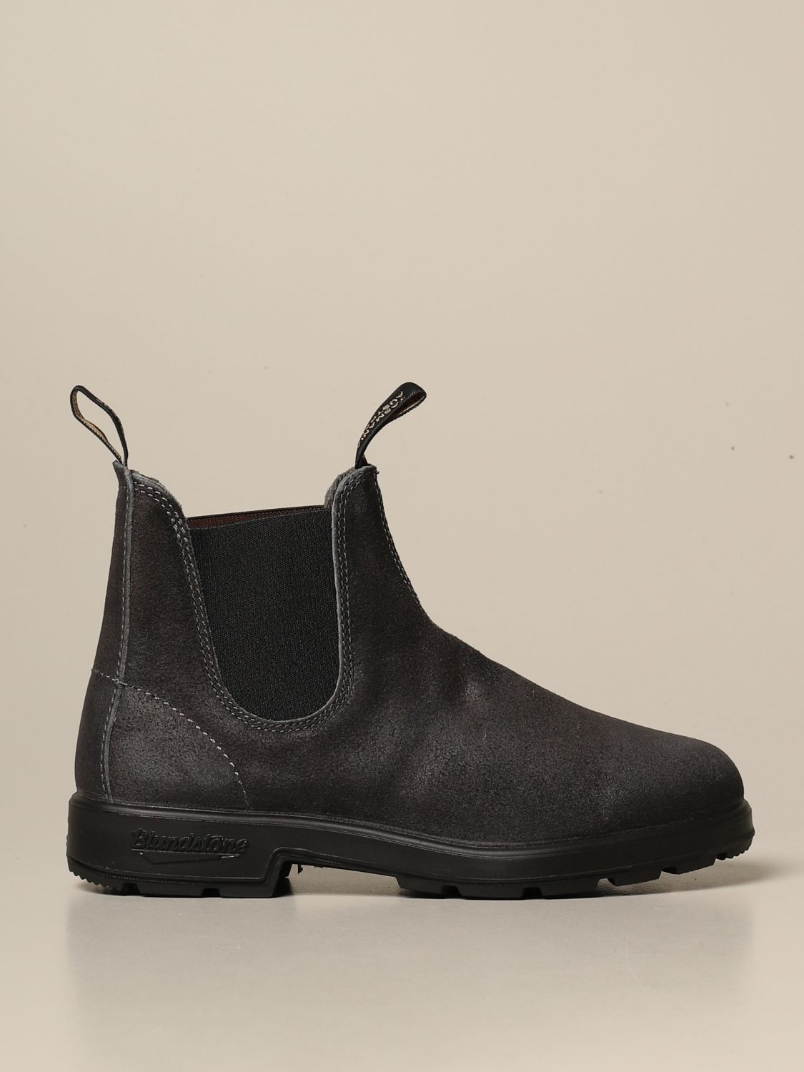 Boots Blundstone: Blundstone ankle boot in split leather grey 1