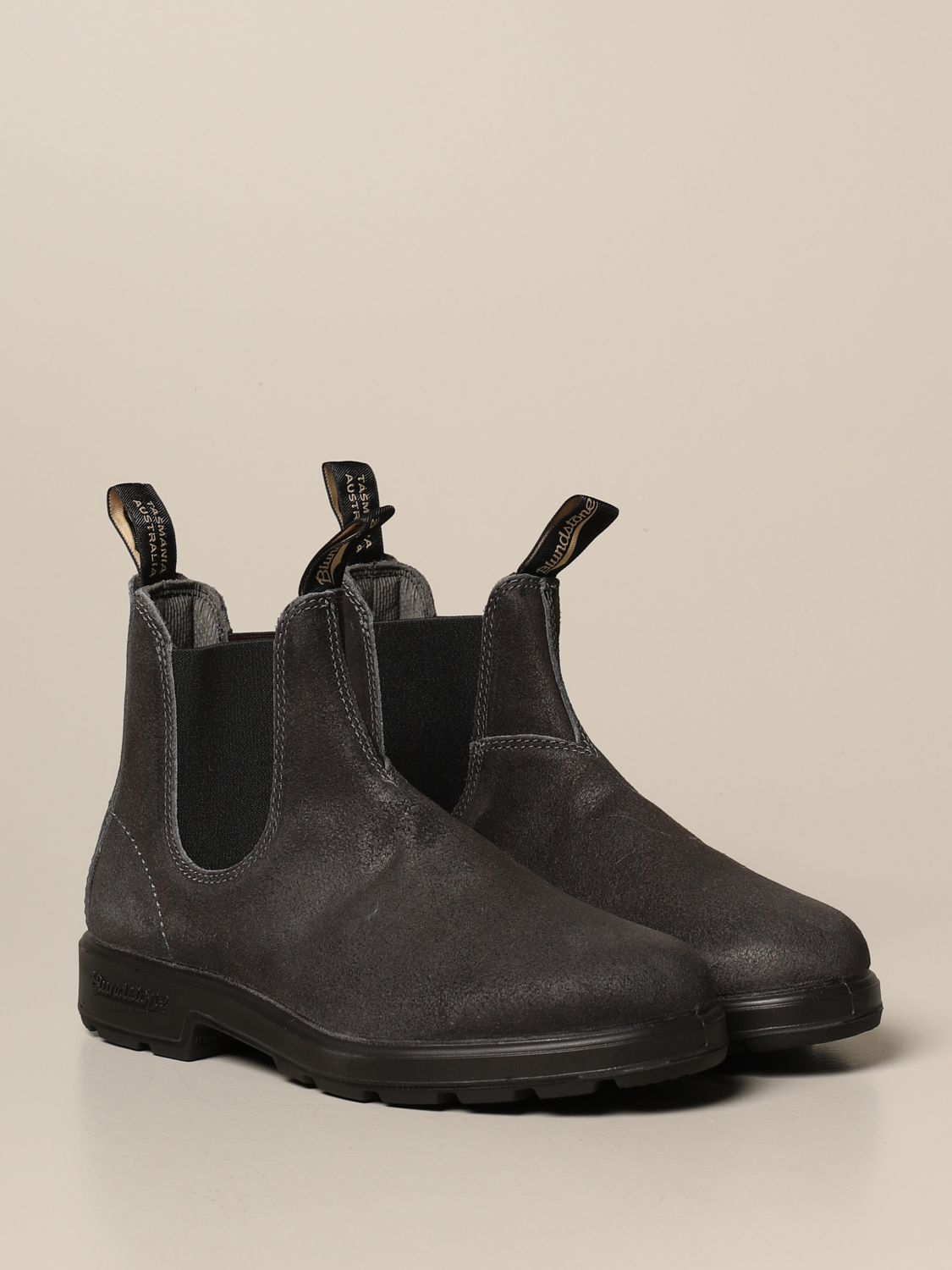 Boots Blundstone: Blundstone ankle boot in split leather grey 2