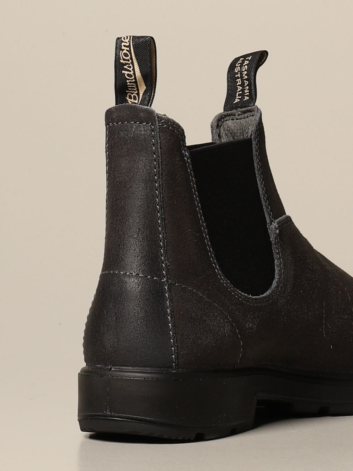 Boots Blundstone: Blundstone ankle boot in split leather grey 3
