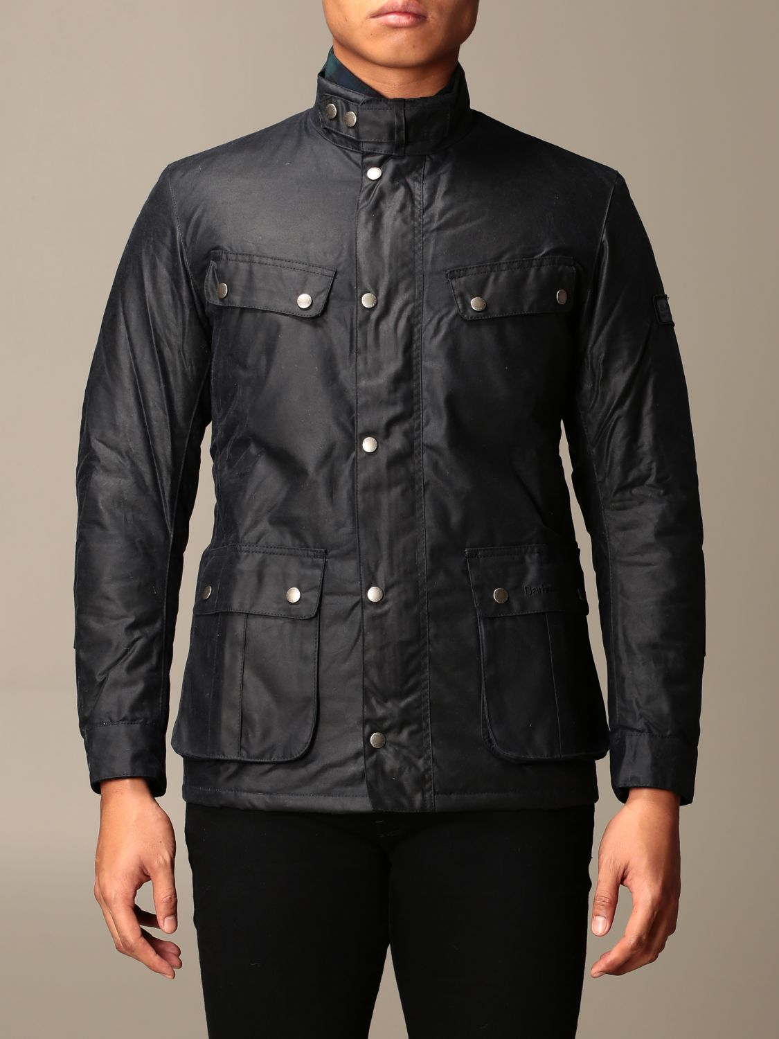 Jacket Barbour: Jacket men Barbour blue 1
