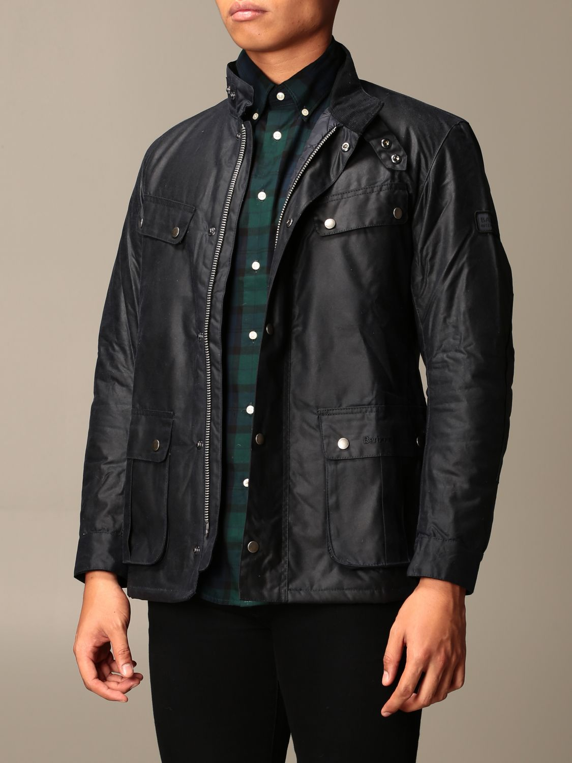 Jacket Barbour: Jacket men Barbour blue 3