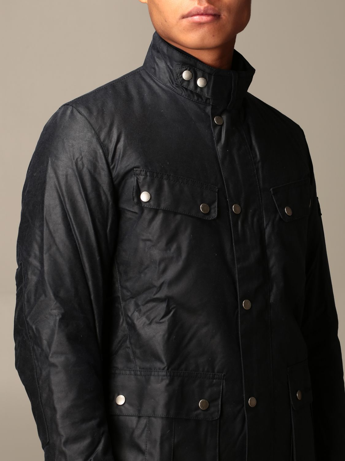 Jacket Barbour: Jacket men Barbour blue 4