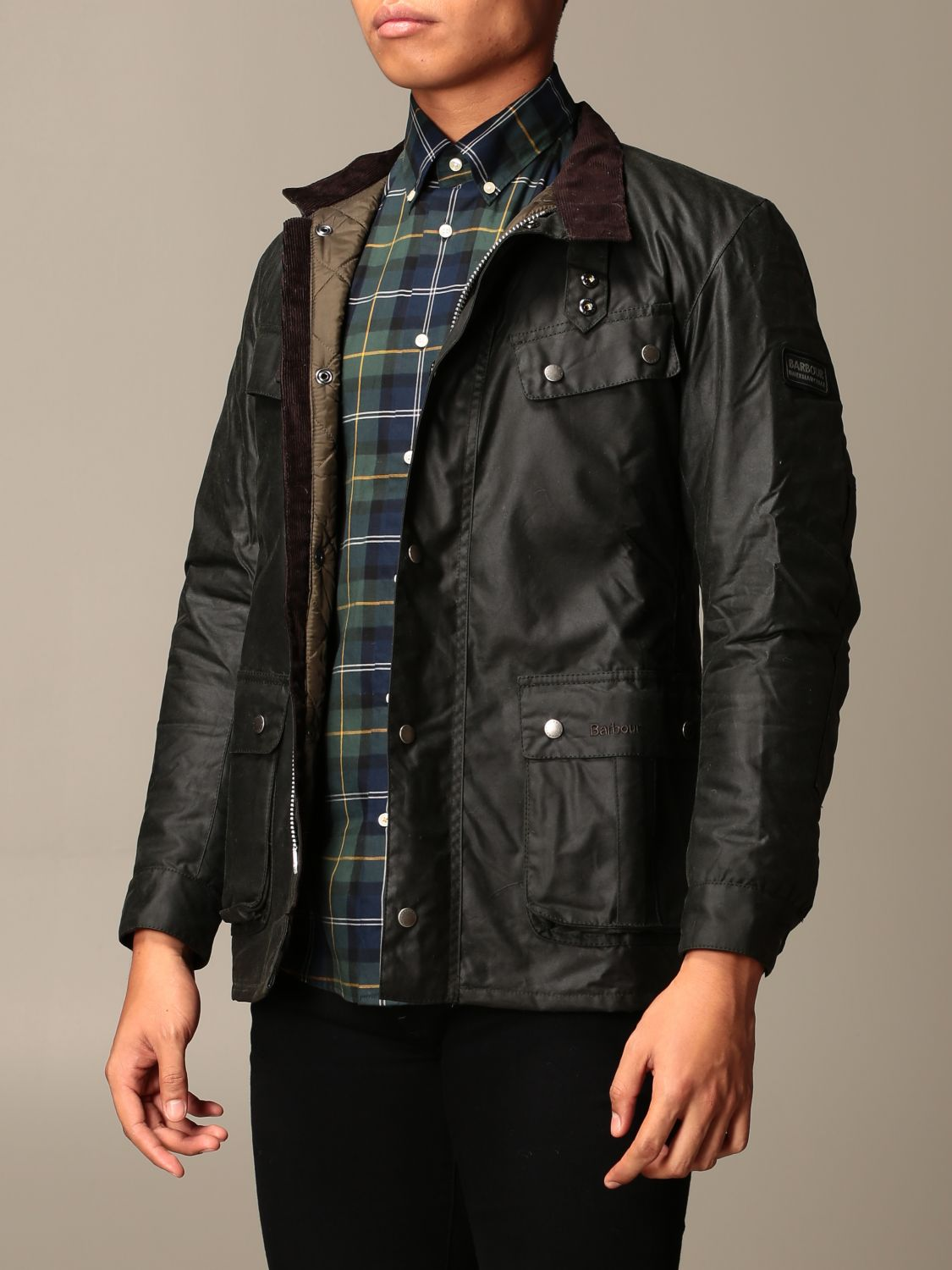 Jacket Barbour: Jacket men Barbour green 3