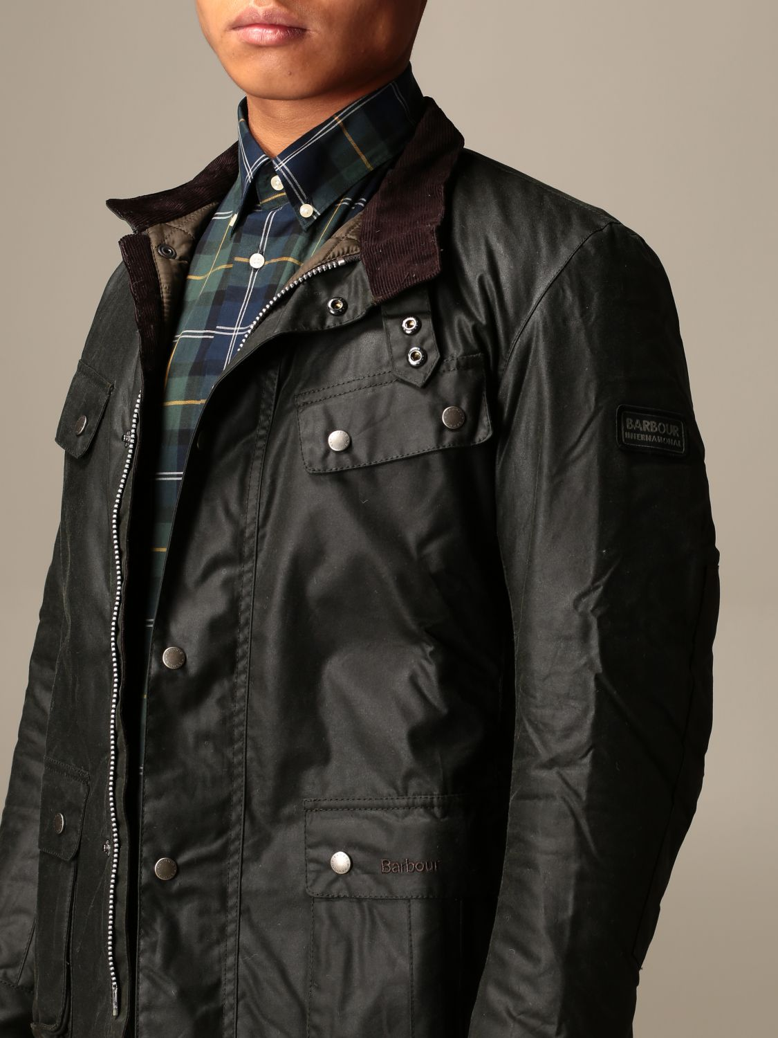 Jacket Barbour: Jacket men Barbour green 4