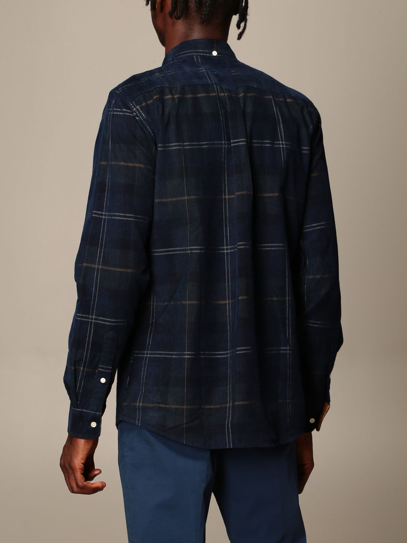 Shirt Barbour: Shirt men Barbour blue 2