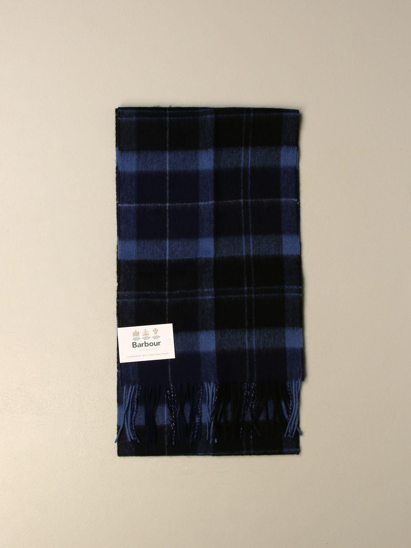 Sciarpa Barbour: Sciarpa Barbour in lana tartan blue 1