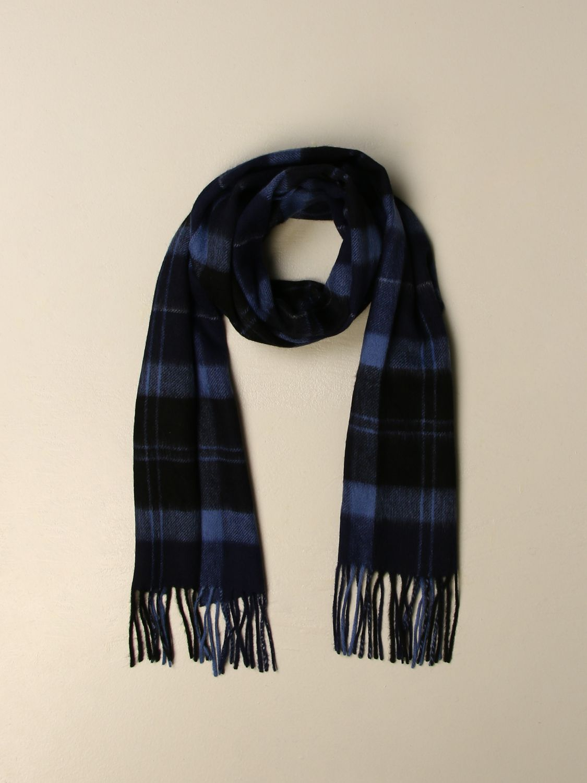 Sciarpa Barbour: Sciarpa Barbour in lana tartan blue 2