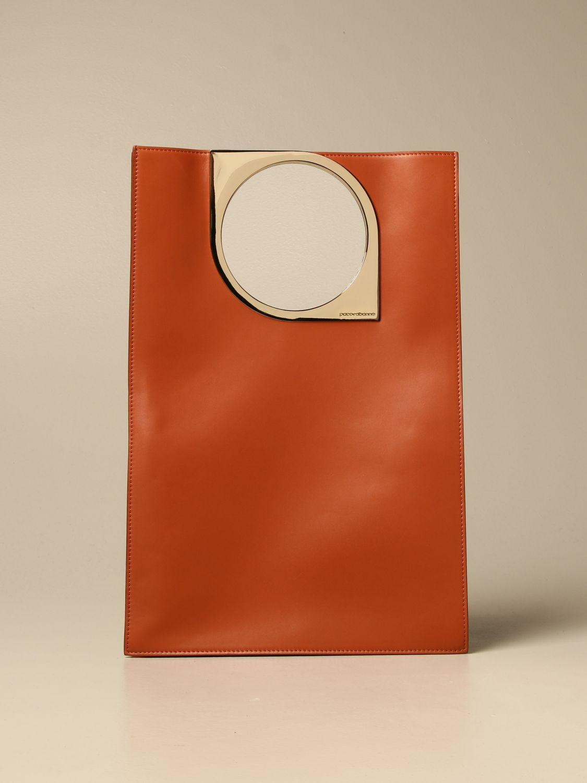Bolso de mano Paco Rabanne: Bolso de mano mujer Paco Rabanne color óxido 1