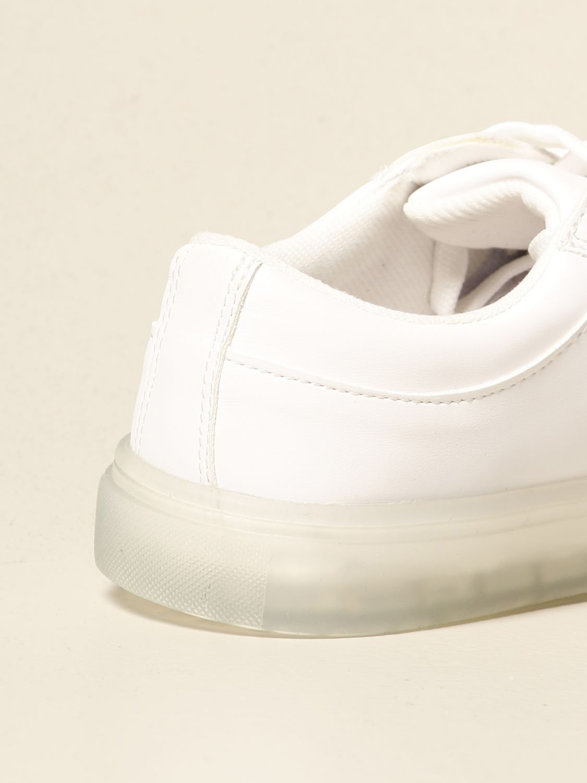 Scarpe Msgm Kids: Sneakers Msgm Kids in pelle con logo bianco 3