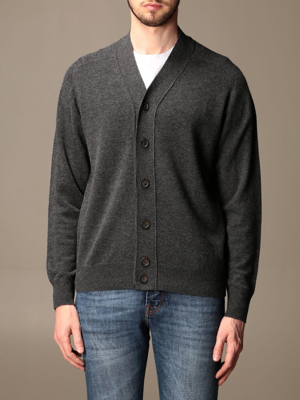 Cardigan Aspesi: Aspesi basic v-neck cardigan grey 1