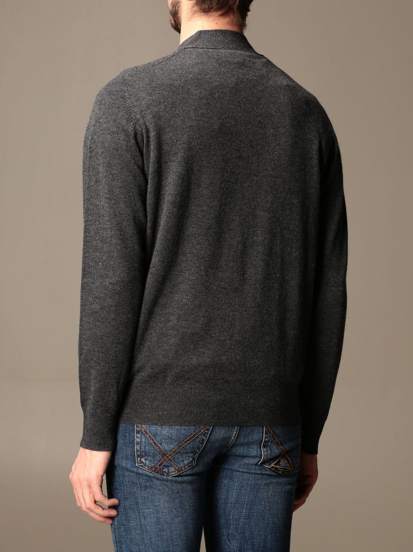 Cardigan Aspesi: Aspesi basic v-neck cardigan grey 2