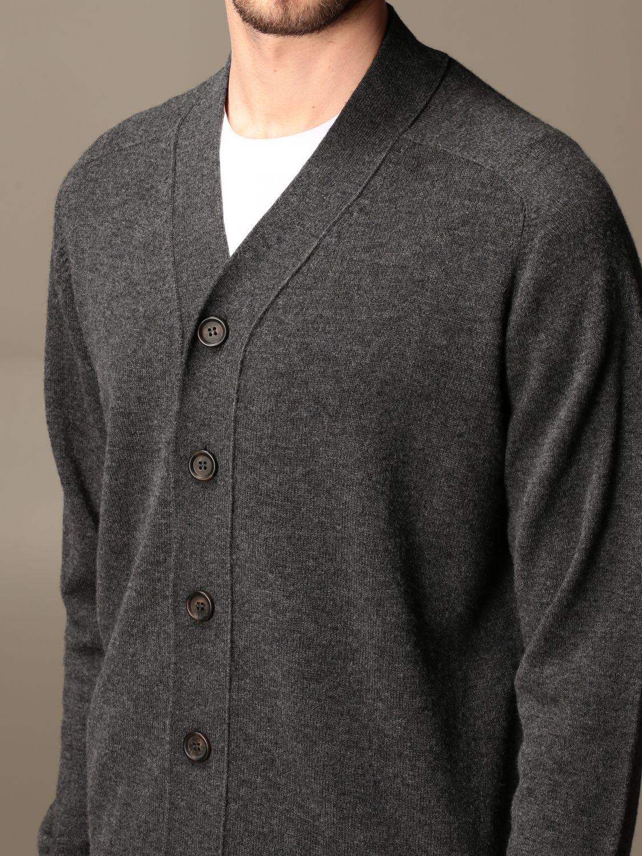 Cardigan Aspesi: Aspesi basic v-neck cardigan grey 3