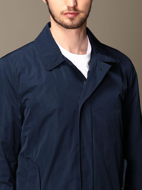 Veste Aspesi: Trench homme Aspesi bleu 5