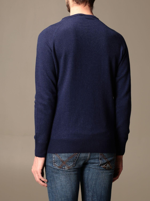 Sweater Aspesi: Aspesi basic crewneck sweater blue 2