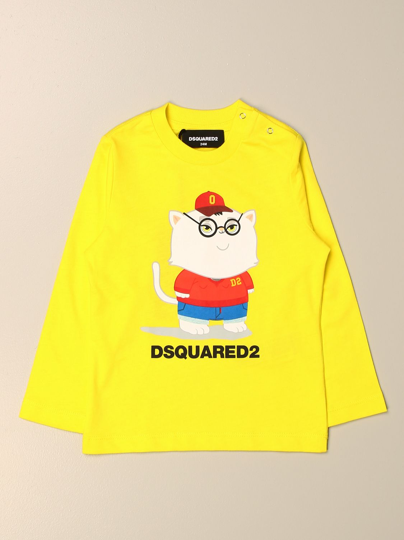 T-shirt Dsquared2 Junior: T-shirt kids Dsquared2 Junior yellow 1