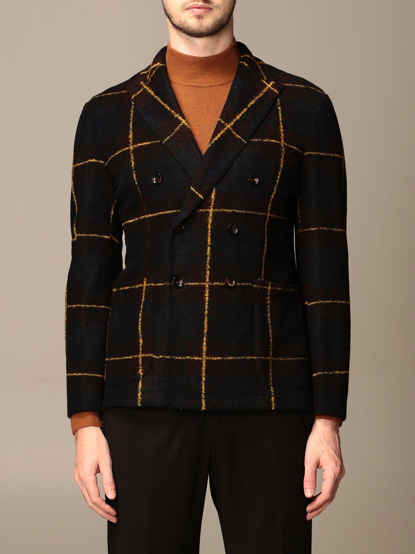 Jacket Alessandro Dell'acqua: Jacket men Alessandro Dell'acqua multicolor 1