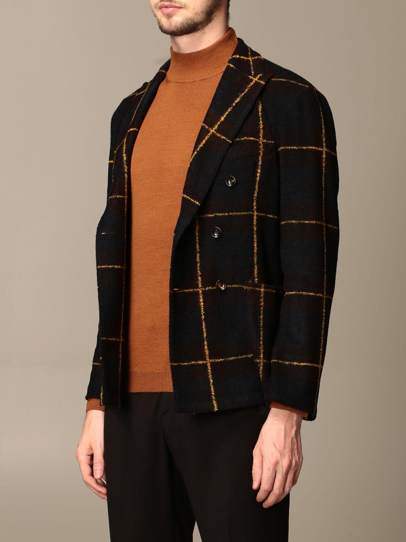 Jacket Alessandro Dell'acqua: Jacket men Alessandro Dell'acqua multicolor 4