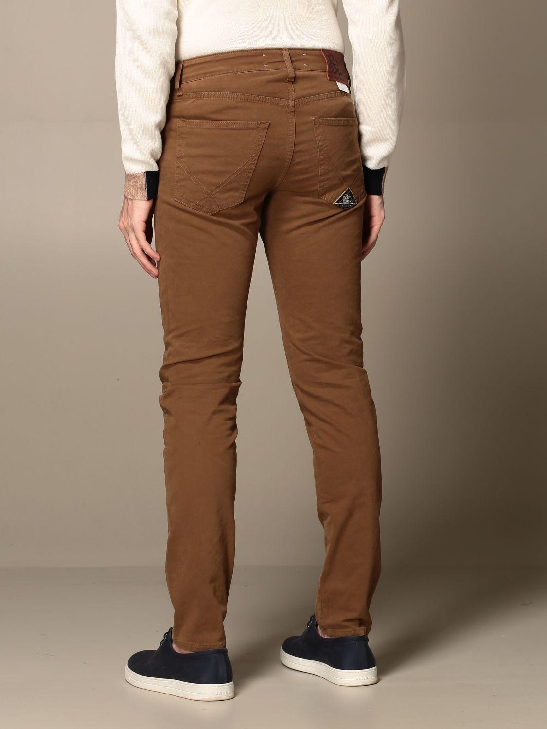 Pants Roy Rogers: Roy Rogers trousers with 5 pockets kaki 2