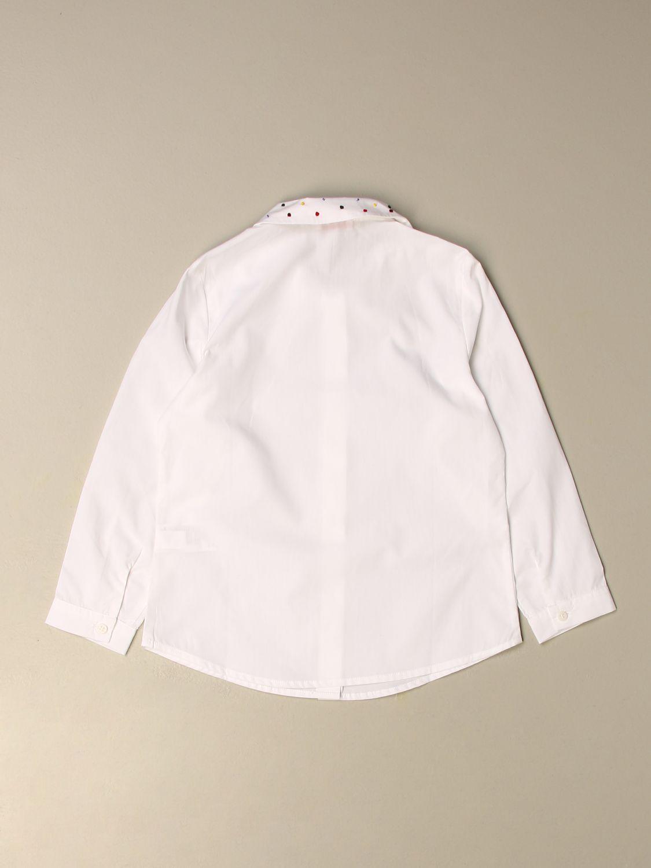 Chemise Il Gufo: Chemise enfant Il Gufo blanc 2