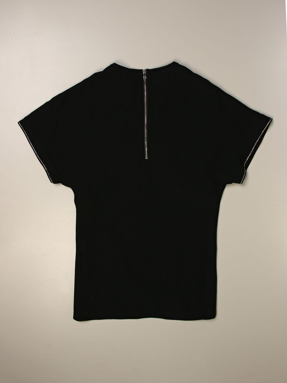 Vestido Balmain: Vestido niños Balmain negro 2