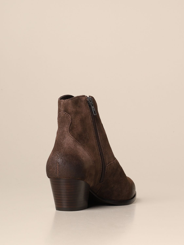 Flat ankle boots Ash: Shoes women Ash brown 3