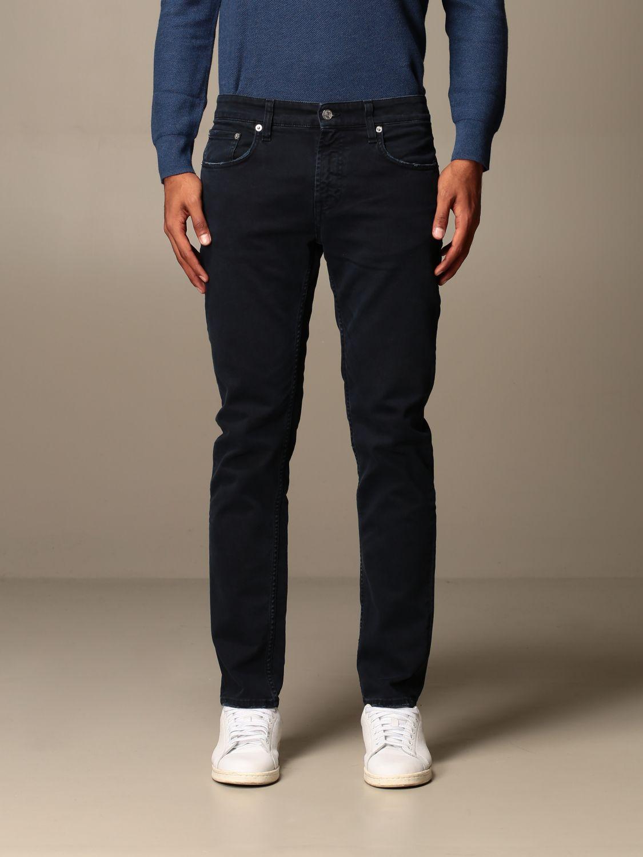 Pantalone Department 5: Pantalone Department Five a 5 tasche blue navy 1