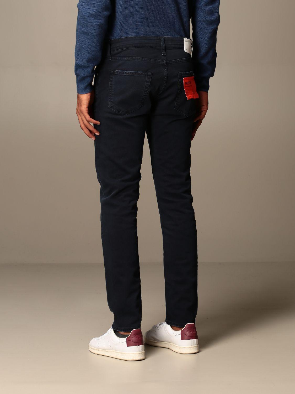Pantalone Department 5: Pantalone Department Five a 5 tasche blue navy 2