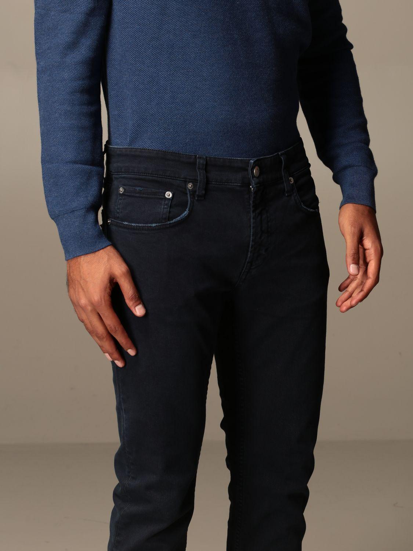 Pantalone Department 5: Pantalone Department Five a 5 tasche blue navy 3