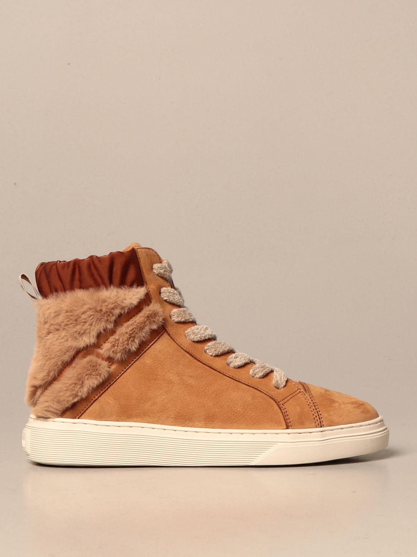 Sneakers Hi-Top H365 Hogan in nabuk