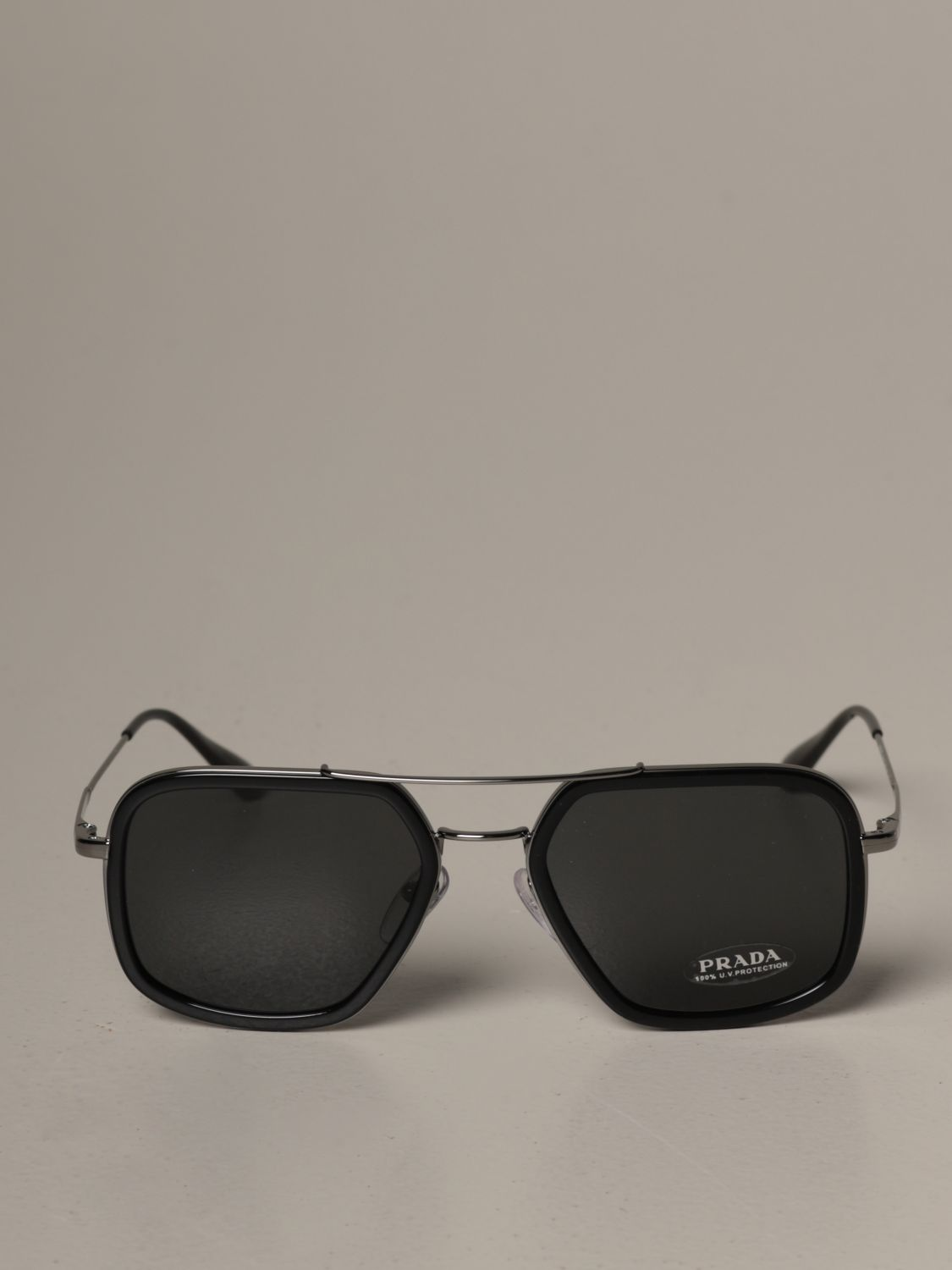 Glasses Prada: Glasses men Prada black 2